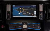 Nissan e-NV200 Evalia infotainment system