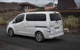 Nissan e-NV200 Evalia rear