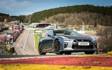 Nissan GT-R Prestige on track
