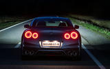Nissan GT-R Prestige at night