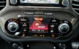 Nissan Juke Nismo RS climate controls