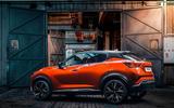 2020 Nissan Juke - static rear