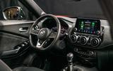 2020 Nissan Juke - static interior
