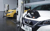 Nissan Leaf 2018 charging up
