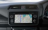 Nissan Leaf 2018 infotainment system