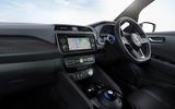 Nissan Leaf 2018 interior