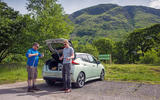 Nissan Leaf 2nd generation (2018) long-term review three peaks