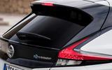 Nissan Leaf rear spoiler