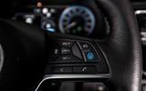 Nissan Leaf steering wheel controls