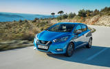Nissan Micra 1.0 on the road