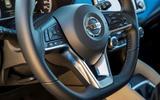 Nissan Micra 1.0 steering wheel