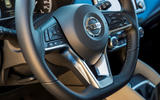 Nissan Micra 1.0 steering wheel