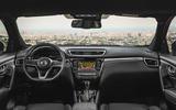 Nissan Qashqai 2018 interior front image