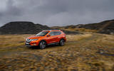 Nissan X-Trail off-roading