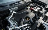 1.6-litre Nissan X-Trail petrol engine
