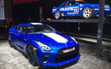 Nissan GT-R 50th Anniversary edition - New York motor show 2019 - posing
