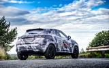 2020 Nissan Juke prototype drive - static rear