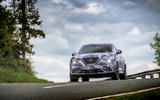 2020 Nissan Juke prototype drive - driving front