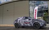 2020 Nissan Juke prototype drive - static side