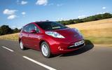 Nissan Leaf 2015 - tracking front