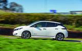 Nissan Leaf driving - side