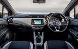 Nissan Micra dashboard