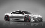 Honda NSX Type R Autocar rendering