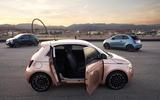 Fiat 500 3+1 official images - doors open