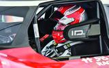 Romain Dumas on board Volkswagen ID R