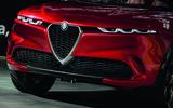 Alfa Romeo Tonale concept - grille
