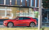 Driving the Jaguar I-Pace to the Frankfurt motor show