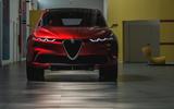 Alfa Romeo Tonale concept - front