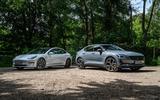2020 Polestar 2 vs Tesla Model 3 - static