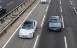 2020 Polestar 2 vs Tesla Model 3 - motorway
