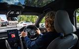 2020 Polestar 2 vs Tesla Model 3 - driving