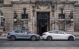 2020 Polestar 2 vs Tesla Model 3 - London