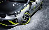 Opel Corsa-e Rally - front detail