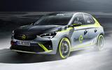 Opel Corsa-e Rally - front