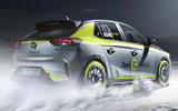 Opel Corsa-e Rally - rear