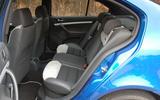 Skoda Octavia - rear seats