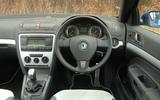 Skoda Octavia - wheel and dashboard