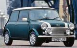 Rover Mini front 3/4