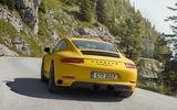 Porsche 911 Carrera T revealed as pared-back special
