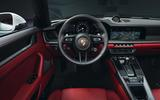 2019 Porsche 911 Carrera interior