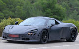McLaren P14 - 650S replacement spotted testing