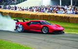 Ferrari P80C at Goodwood
