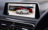 BMW 740Li iDrive infotainment