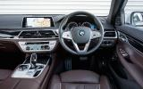 BMW 7 Series dashboard