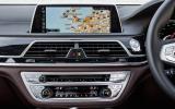 BMW 740Li centre console