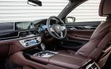 BMW 740Li interior
